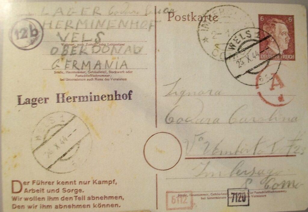 deportati, imbersago, prigionia tedesca, 8 settembre, 25 aprile, storia adda, adda, ecomuseo adda di leonardo, Mario Achille Galbusera, Luca Codara