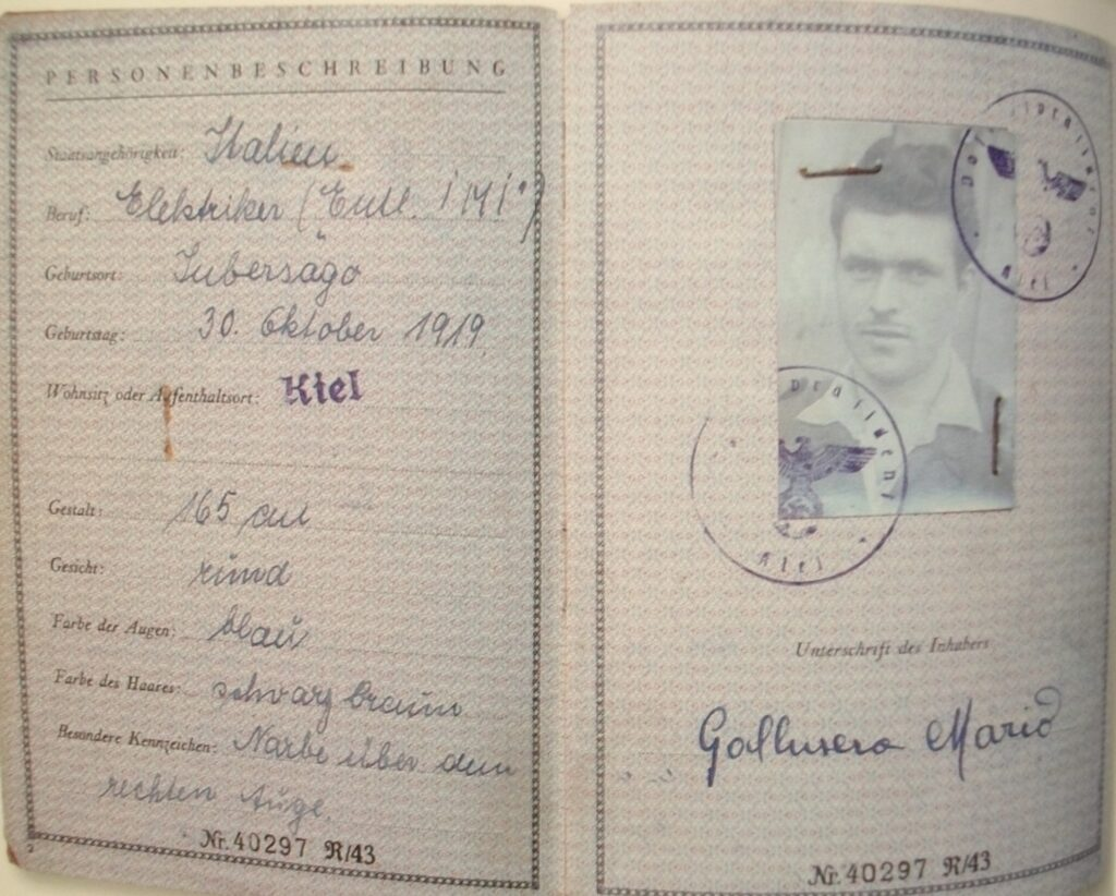 deportati, imbersago, prigionia tedesca, 8 settembre, 25 aprile, storia adda, adda, ecomuseo adda di leonardo, Mario Achille Galbusera
