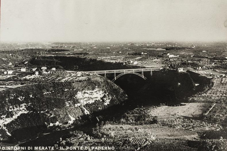 Ponte San Michele, Ponte Paderno d'Adda, Ponte Paderno, Jules Röthlisberger, candidatura unesco, Eiffel, ecomuseo adda di leonardo, vittorio alberganti
